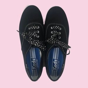 Keds Shoes - Keds NWOT Sneaker With Polka Dot Laces